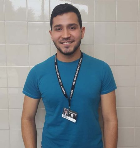 English as a Second Language (ESL) student from Venezuela appreciates experience at SHS