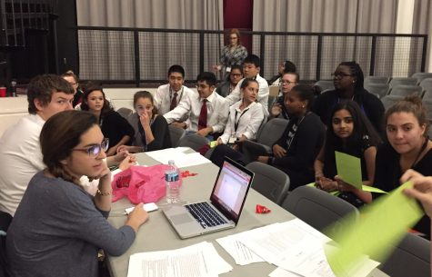 Model Congress holds two-day event at SHS