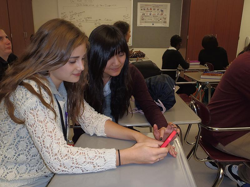 SHS pilots bring your own device into classrooms