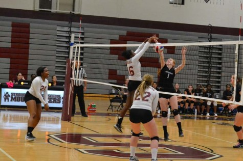 Girls Volleyball vs. East Stroudsburg North Pictures