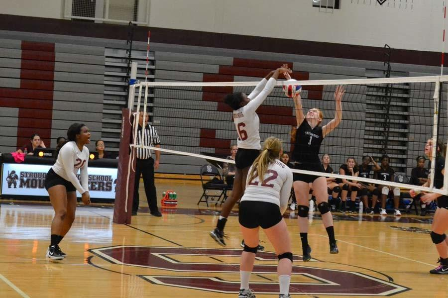 Girls+Volleyball+vs.+East+Stroudsburg+North+Pictures