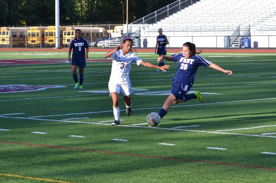 Girls+Soccer+vs.+Pocono+Mountain+West+Photos