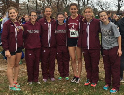 Girls Cross Country team makes history