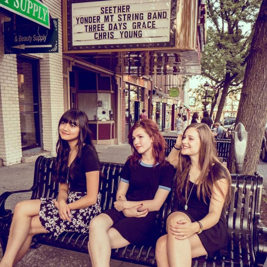 The Set Up: alternative band consists of three SHS females, playing downtown soon