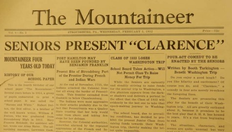1932 edition of Mountaineer unearths its origins