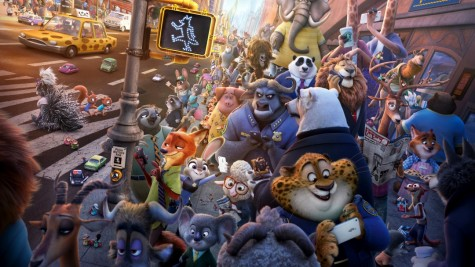 A promotional photo for the movie Zootopia.