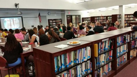 ESL luncheon: students share their culture through food and stories