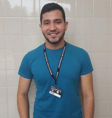 ESL student from Venezuela appreciates experience at SHS