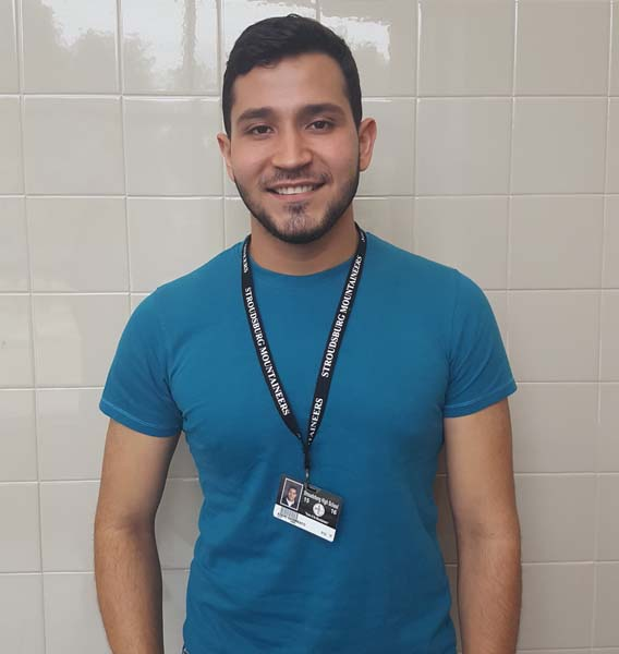 ESL student from Venezuela appreciates experience at SHS