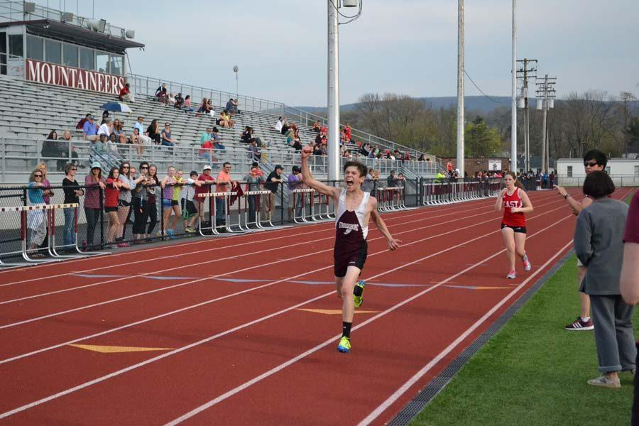 Boys and Girls Track Team Run Over East