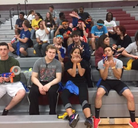 Senior class hosted Nerf Zombie night, check out slide show!