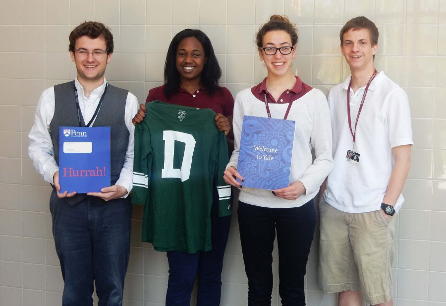 Four SHS seniors accepted to Ivy League schools
