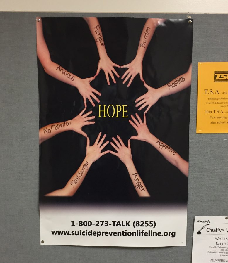 Poster+outside+of+the+main+office+provides+emergency+hotline+and+website+for+more+information+on+suicide+prevention.+