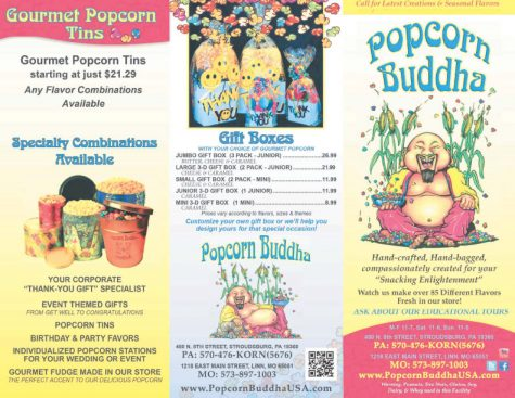 "Popcorn Buddha partners with the SHS newspaper for the annual ""March Madness"" event"