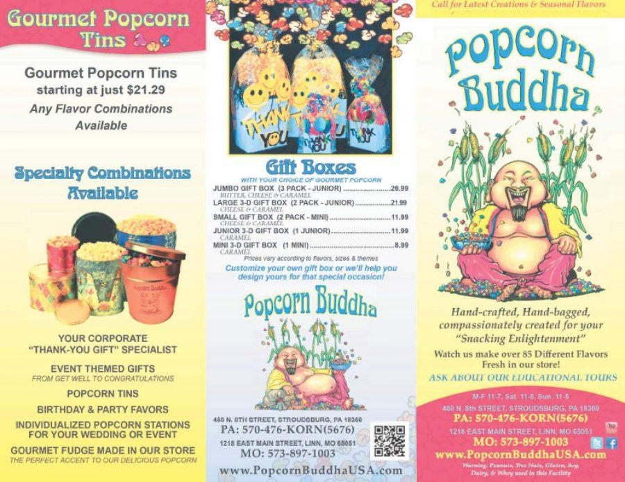 Popcorn Buddha partners with the SHS newspaper for the annual