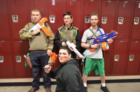 Check out the Nerf Zombie story and photo gallery!