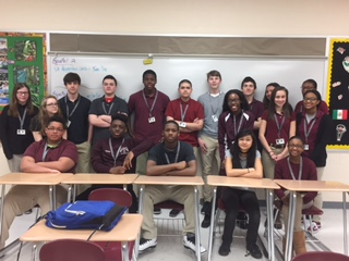 Journalism class at the junior high school prepares students for the future
