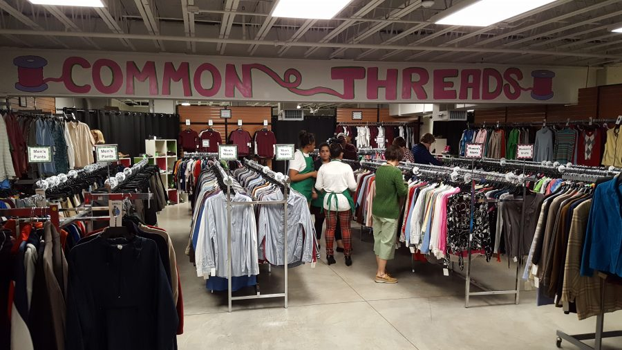 Common Threads, SHS's clothing store,  opens to the public Friday, April 7!