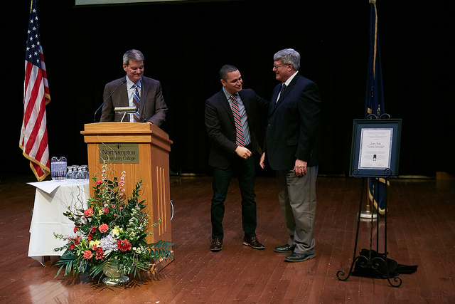 A celebration in honor of Dr. Javier Ávila, professor of English at NCC and PA Professor of the Year, was held on January 21, 2016.