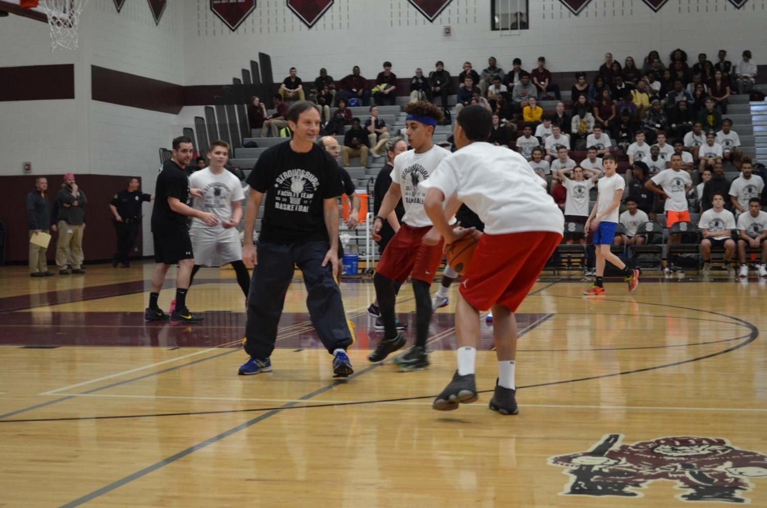 Faculty vs. Students Basketball Game