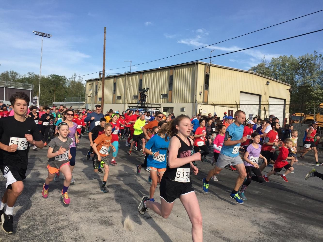 Run for the Red helps disaster relief around the Poconos