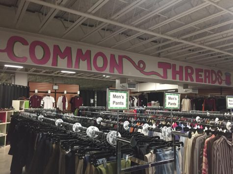 Common Threads: SHS's dollar store filled with clothing