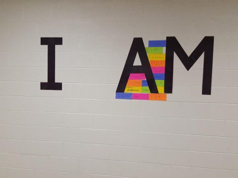 """""""I AM"""" Wall returns at a new location"""