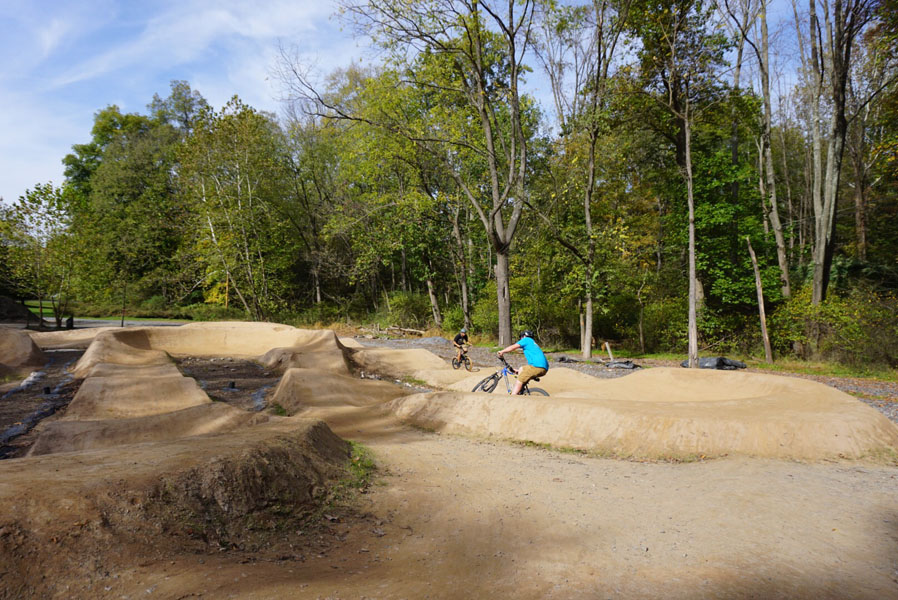 New family bike park opens along River Road