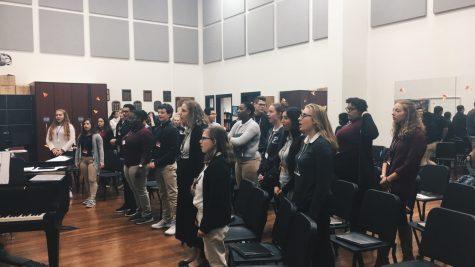 Chorale chooses challenging music to wow its audiences