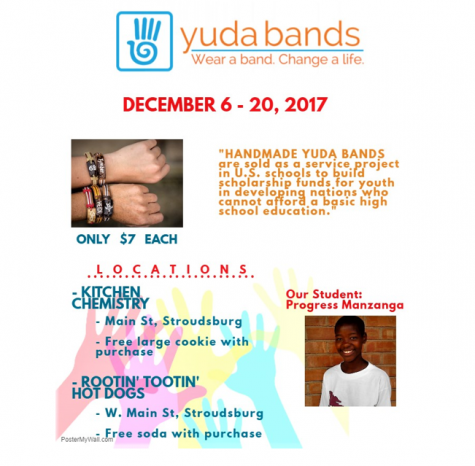 SHS Environmental Club raises high school scholarship funds through the Yuda bands organization
