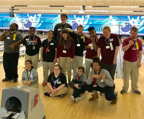 SHS students participate in Special Olympics Bowling 2018
