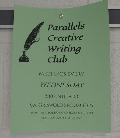 Parallels Writing Club seeks creative students
