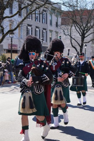 St. Patrick's Day Parade marches through town