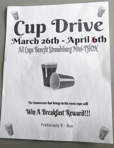 Mini-Thon Cup Drive Ends Tomorrow