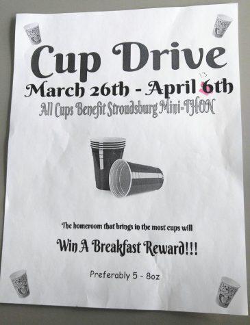 Mini-Thon Cup Drive Ends Tomorrow