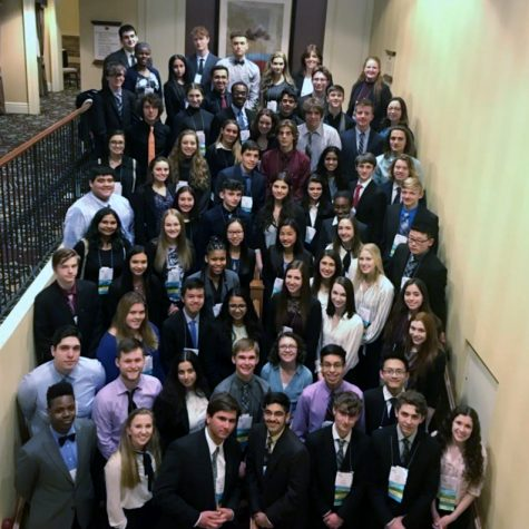 67 students attend FBLA state conference!