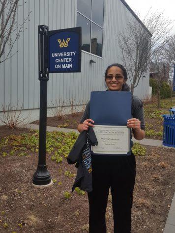 SHS junior wins two prestigious journalism awards