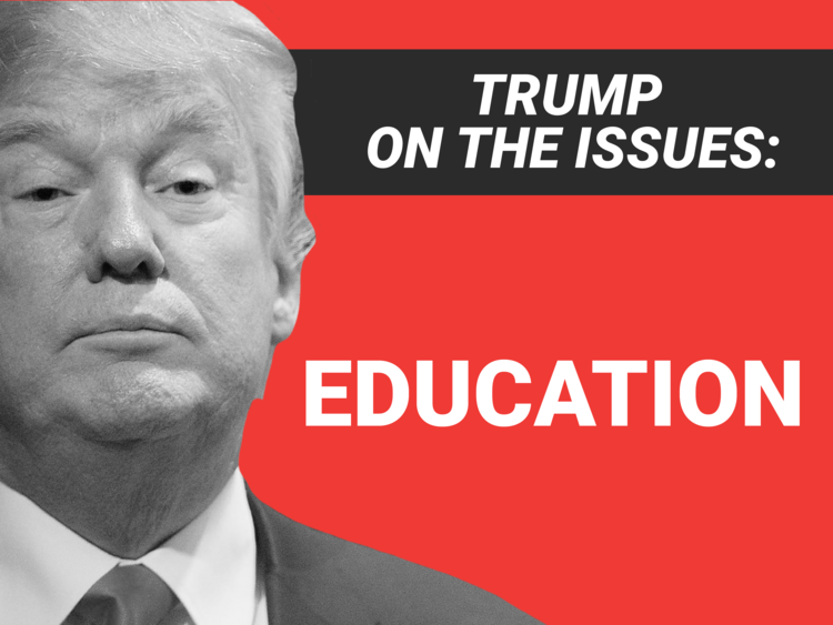 A close-up look at President Trump's education plan