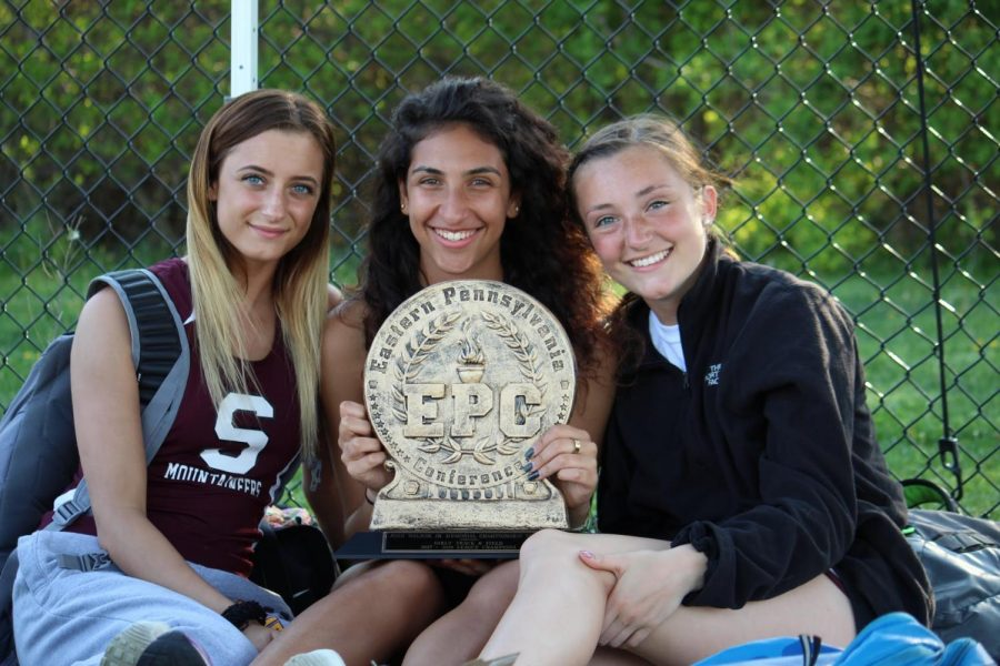 Girls track and field wins EPC again!