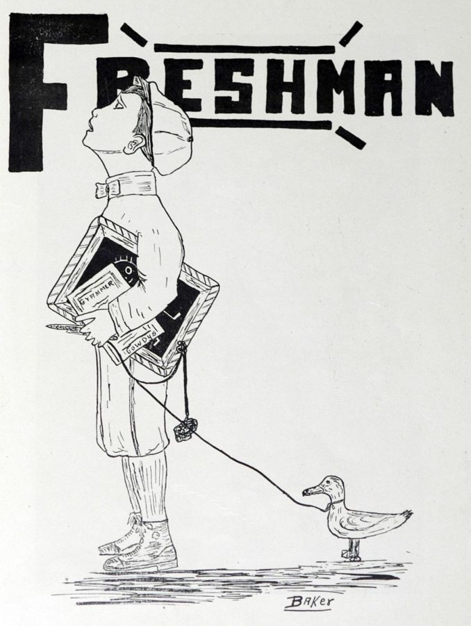 Parting freshman offers advice to incoming freshman class