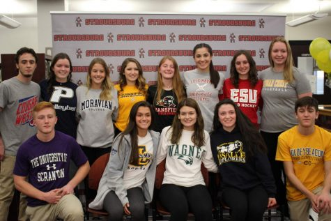 Star athletes sign with colleges, See photo gallery below!
