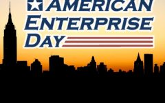 Celebrating a successful day in FBLA – American Enterprise Day