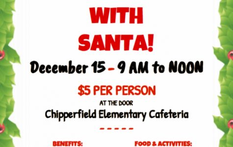 Breakfast with Santa: 12/15/18 (9 a.m.-12 p.m.)