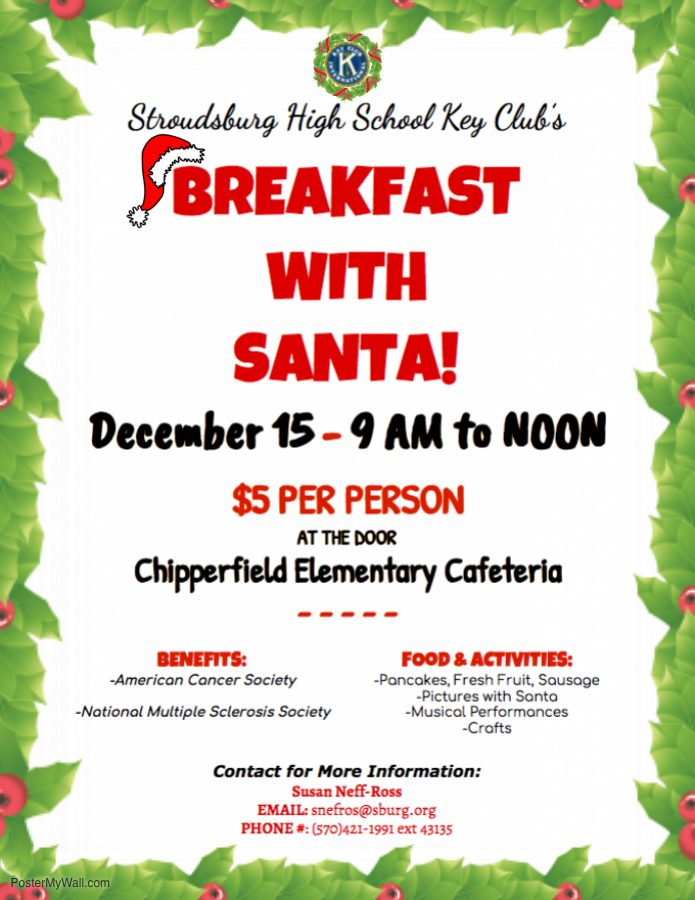 Key Club to hold Breakfast with Santa event