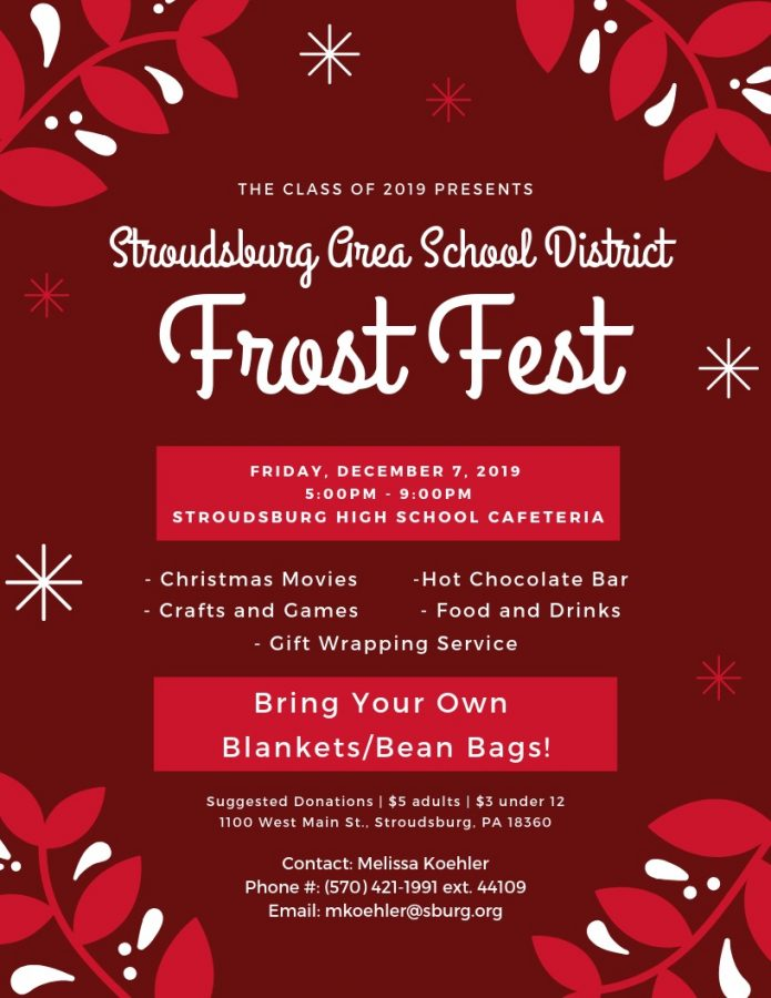 SASD Frost Festival is coming to town Friday!