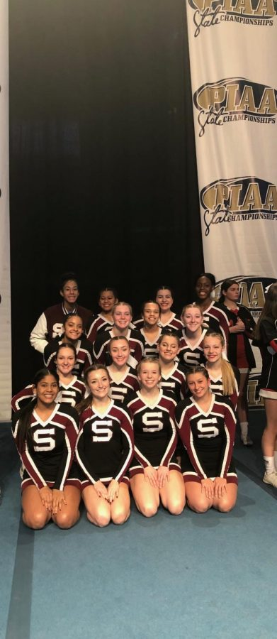 SHS cheerleaders place 10th at states!