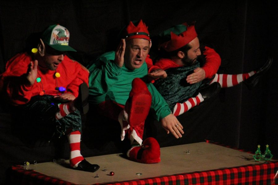 Staff Holiday Show is a smashing success!
