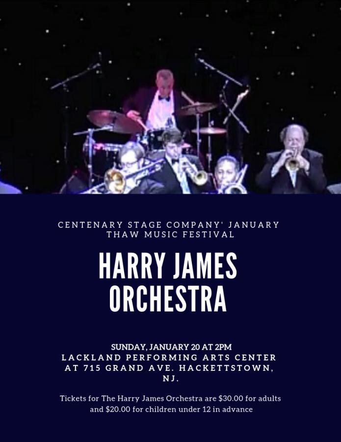 Harry James Orchestra: 1/20/19 (2 p.m.)