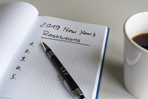 People struggle to stick to New Year's resolutions
