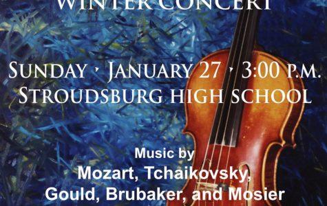 Pocono Community Orchestra Winter Concert: 1/27/19 (3 p.m.)